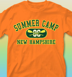 Summer Camp Shirt Designs - Athletic clas-480h7