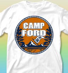 Summer Camp Shirt Designs - Close to Nature desn-367c4