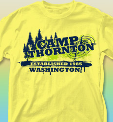 Summer Camp Shirt Design -Heraldry Year desn-494h9