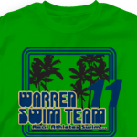 Senior Class T Shirt - South Beach 762s8
