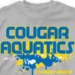Swim Team T Shirts - Aquatic Splash 259a1