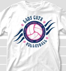 Volleyball Camp Shirt Designs - Heater clas-729h4