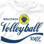 Volleyball T Shirt - Enjoy 836e8