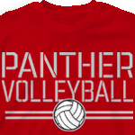 Volleyball T Shirt - Stencil Sport 275s2