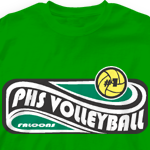 Volleyball Team Shirts - Wave Pool 461w5