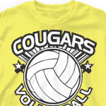 Custom Team Volleyball Shirts - We Got Game 727w3