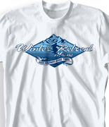 Winter Youth Retreat T Shirt  - Expedition camp desn-674e2