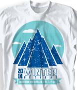 Winter Youth Retreat T Shirt  - Cuatro Peaks desn-858c1