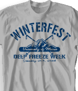 Winter Youth Retreat T Shirt  - Mammoth Ctry desn-518m4