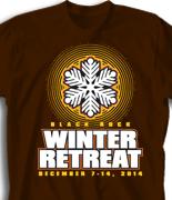 Winter Retreat T Shirt  - Copo de Invierno desn-863c1