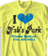 Winter Retreat T Shirt  - I Heart Vintage desn-149j3