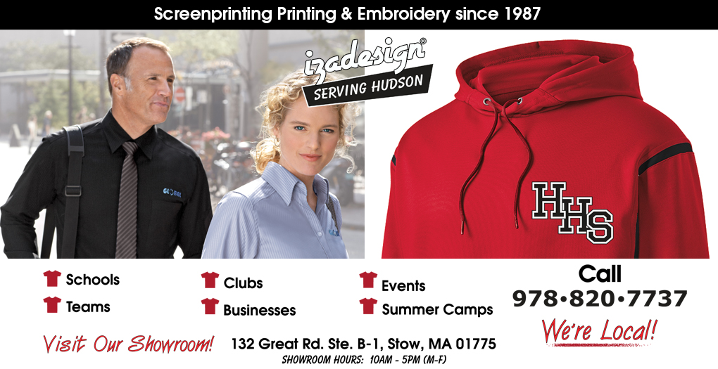IZA Design Screen Printing and Embroidery in Hudson, MA