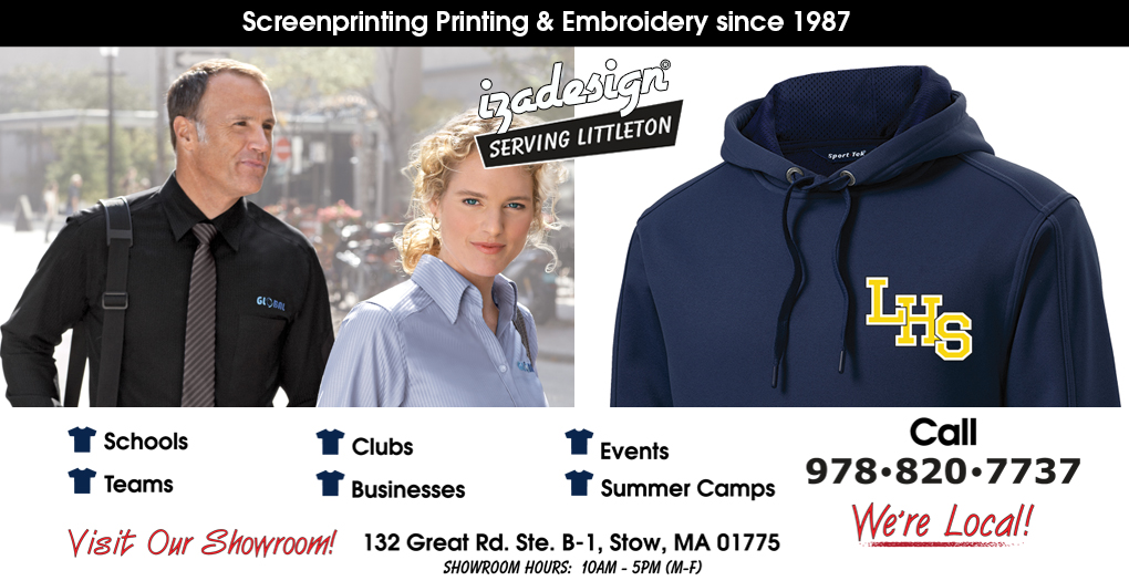 IZA Design Screen Printing and Embroidery in Littleton, MA
