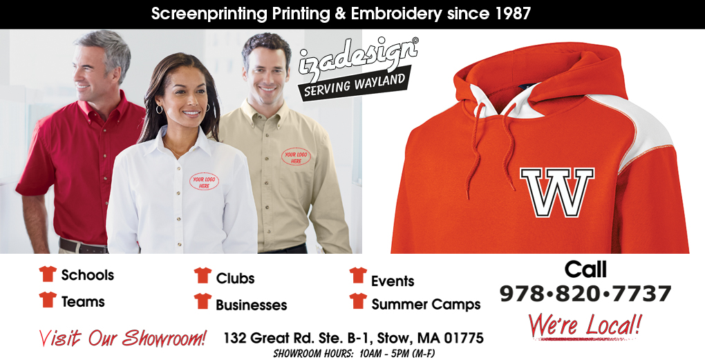 IZA Design Screen Printing and Embroidery in Wayland, MA