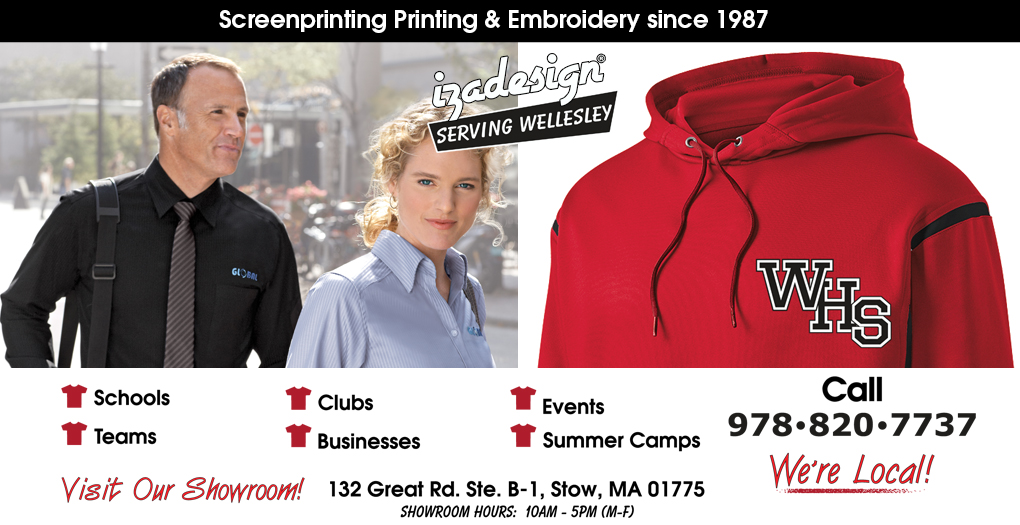 IZA Design Screen Printing and Embroidery in Wellesley, MA