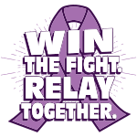 Relay Ribbon Slogan