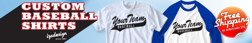 Baseball t shirt designs for your team cool custom Designer baseball shirts