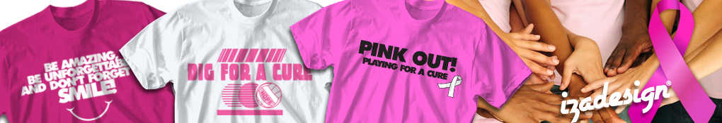 28f9d2f0ba2 Breast Cancer Awareness T-Shirts - Custom Cancer Event and Walk Tees ...