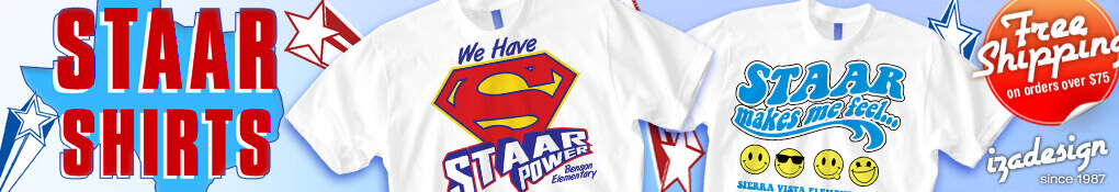 IZA Design Custom STAAR Shirts