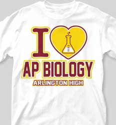 AP Biology Shirts - Love AP Biology cool-335l2