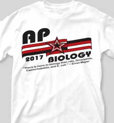 AP Biology Shirts - All Around clas-518c5