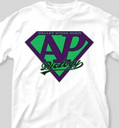 AP Biology Shirts - Super Crest clas-781w6