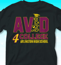 Avid T Shirt Designs New Designs For Avid Program Tees