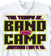 Band Camp T Shirt - Video Game Over - cool-417v3
