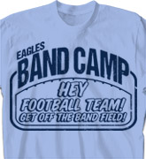 Band Camp T Shirt - Band Camp Field - cool-619b1