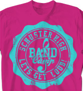 Band Camp T Shirt - Sport Seal - desn-337s3