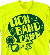 Band Camp T Shirt - Band Quote - cool-612b1