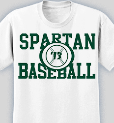 baseball shirt design college standard desn 583c2 - Team T Shirt Design Ideas