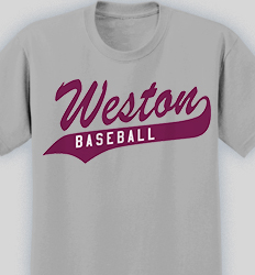 Baseball T-Shirt Designs for Your Team - Cool Custom Baseball Tees ...