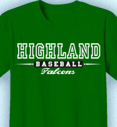 Baseball Shirt Design - College Authority - desn-579c5