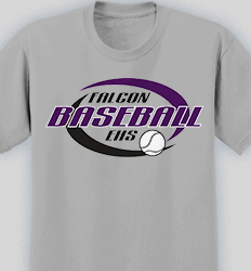 baseball shirt design swirl lead 12s6 - Team T Shirt Design Ideas