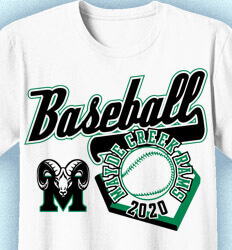 Baseball Shirt Design - State Tournament Day - cool-900s2