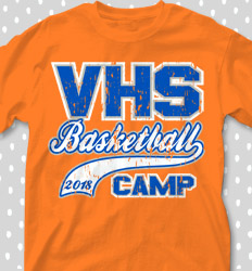 Basketball Camp Shirt Designs - Sports Tail - desn-615t9