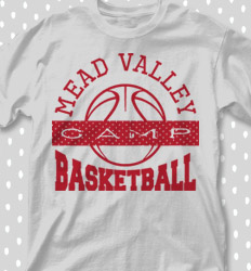 Basketball Camp Shirt Designs - Poly Basketball - cool-683p1
