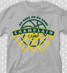 Basketball Camp Shirt Designs - All Net Camp - cool-653a1