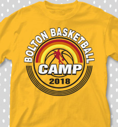 Basketball Camp Shirt Designs - Rainbow City - desn-406s1