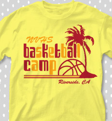 Basketball Camp Shirt Designs - Paradise - desn-755q1