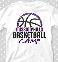 Basketball Camp Shirt Designs - Bball Camp Horizon - cool-655b1