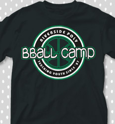 Basketball Camp Shirt Designs - Team Logo - desn-979v2