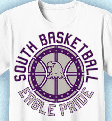 Basketball T Shirt Design - Basketball Pride - cool-793b1