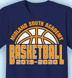 Basketball T Shirt Design - Basketball Capital - idea-140b1