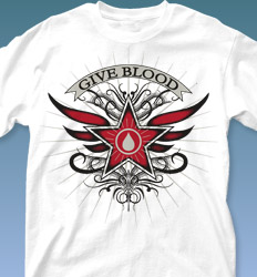 Blood Donor Shirt Designs - Guia desn-316g4