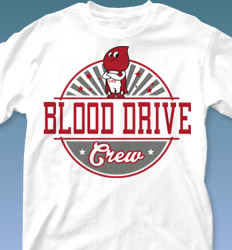 Blood Donor Shirt Designs - Disco-Rama desn-126e5