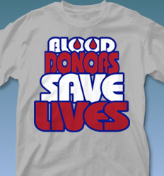 Blood Donor Shirt Designs - Big Respect desn-548g9