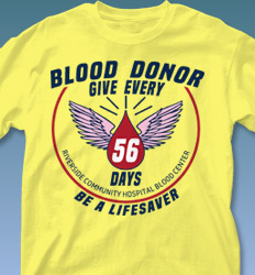 Blood Donor Shirt Designs - Every 56 Days cool-556e1