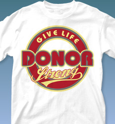 Blood Donor Shirt Designs - Team Logo clas-979v1